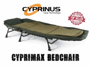 Cyprimax 6 Leg Reclining Bedchair